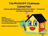 Horace and Morris PH, GH, FF Phonics Pack for Reading Street