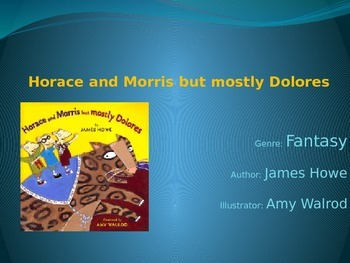 Horace and Morris but Mostly Dolores FREE