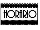 Horario Title