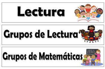 Horario Visual en Español /Visual Schedule in Spanish