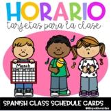 Horario de Clase/Class Schedule