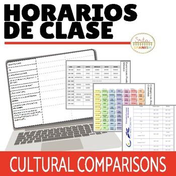 Horarios de Clase: Online Interactive Activity