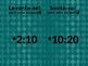 Horas (Time in Portuguese) Levante-se Sente-se