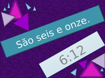 Horas (Time in Portuguese) review game