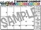 Editable Horizontal Behavior Calendars