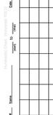 Horizontal Hundred Hundreds Chart