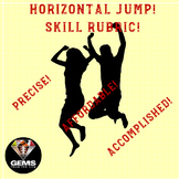 PE Rubric - Horizontal Jump Skill Assessment Rubric!