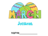 Horizontal March Journal with General Prompts