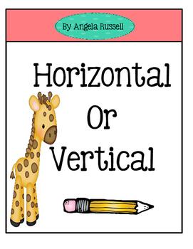 A Mini Math Book ~ Horizontal Or Vertical