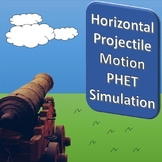 Horizontal Projectile Motion PHET Simulation