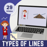 Identifying Lines | Fourth Grade Digital Activities + Worksheets