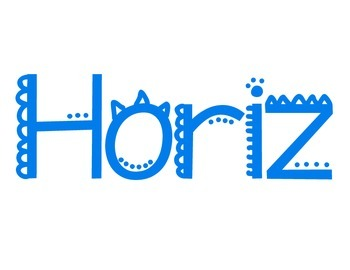 Horizontal & Vertical poster