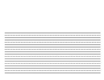 Writing Paper Horizontal