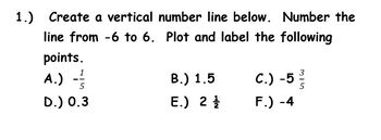 Horizontal and Vertical Quiz