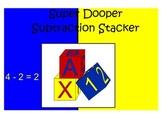 Horizontal and Vertical Subtraction: Super Dooper Subtraction Stacker