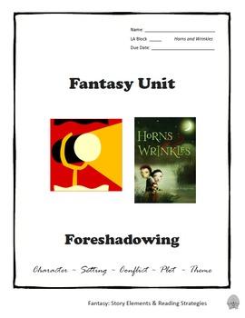 Horns and Wrinkles Novel Study