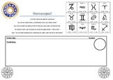 Horoscope Activity Worksheet for ESL Students - Will and Won't