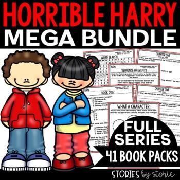 Horrible Harry MEGA Bundle Distance Learning