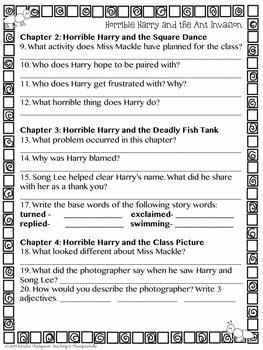Horrible Harry Bug Bundle: Book Review