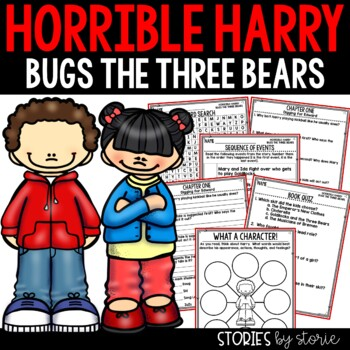 Horrible Harry Bugs the Three Bears - Comprehension Questions