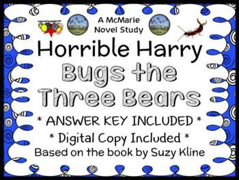 Horrible Harry Bugs the Three Bears (Suzy Kline) Novel Study / Comprehension