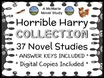 Horrible Harry COLLECTION (Suzy Kline) All 35 Novel Studies (775 pages)