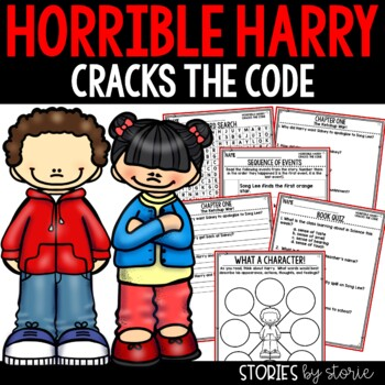Horrible Harry Cracks the Code - Comprehension Questions