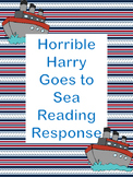 Horrible Harry Goes to Sea Reading Response