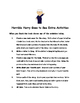 Horrible Harry Goes to Sea by Suzy Kline Comprehension Packet