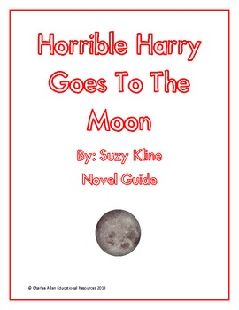 Horrible Harry Goes to the Moon Novel Guide