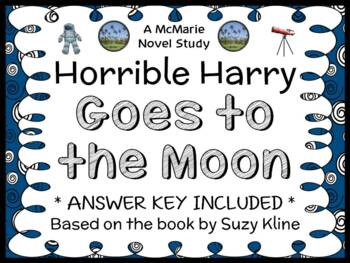 Horrible Harry Goes to the Moon (Suzy Kline) Novel Study / Comprehension