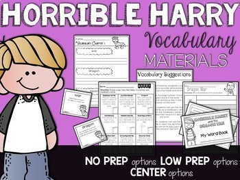 Horrible Harry Guided Reading Bundle (Growing)