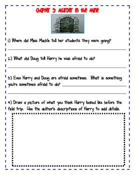 Horrible Harry Moves Up To Third Grade Novel Study