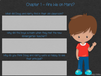 Horrible Harry Moves Up to 3rd Gr (#10) -Novel Study (For Google Classroom)