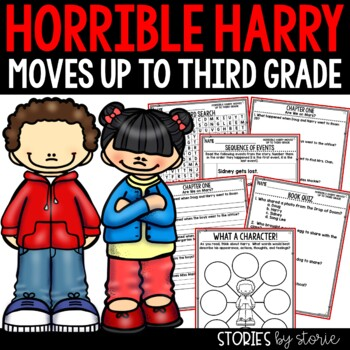 Horrible Harry Moves Up to Third Grade - Comprehension Questions