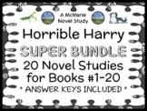 Horrible Harry SUPER BUNDLE (Suzy Kline) 20 Novel Studies: Books #1-20 (395 pgs)