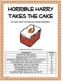 Horrible Harry Takes the Cake Novel Unit