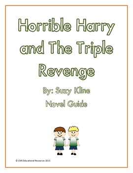 Horrible Harry and The Triple Revenge Novel Guide