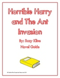 Horrible Harry and The Ant Invasion Novel Guide