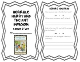 Horrible Harry and the Ant Invasion Book Study