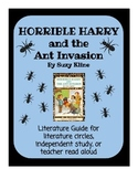 Horrible Harry and the Ant Invasion - Literature Guide
