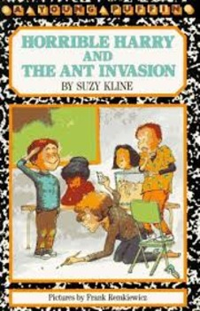 Horrible Harry and the Ant Invasion Set of 4 Books