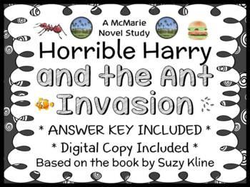 Horrible Harry and the Ant Invasion (Suzy Kline) Novel Stu