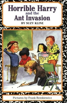 Horrible Harry and the Ant Invasion by Suzy Kline Comp Questions