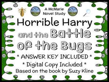 Horrible Harry and the Battle of the Bugs (Suzy Kline) Novel Study (27 pages)
