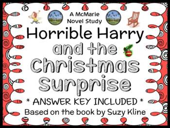 Horrible Harry and the Christmas Surprise (Kline) Novel Study / Comprehension