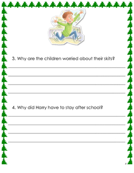 Horrible Harry and the Christmas Surprise Literature Guide