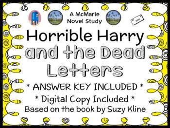 Horrible Harry and the Dead Letters (Suzy Kline) Novel Stu