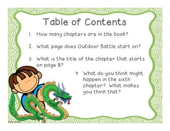 Horrible Harry and the Dragon War - Reading Comprehension - No Copies/No Prep!