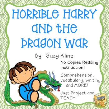 Horrible Harry and the Dragon War - Reading Comprehension